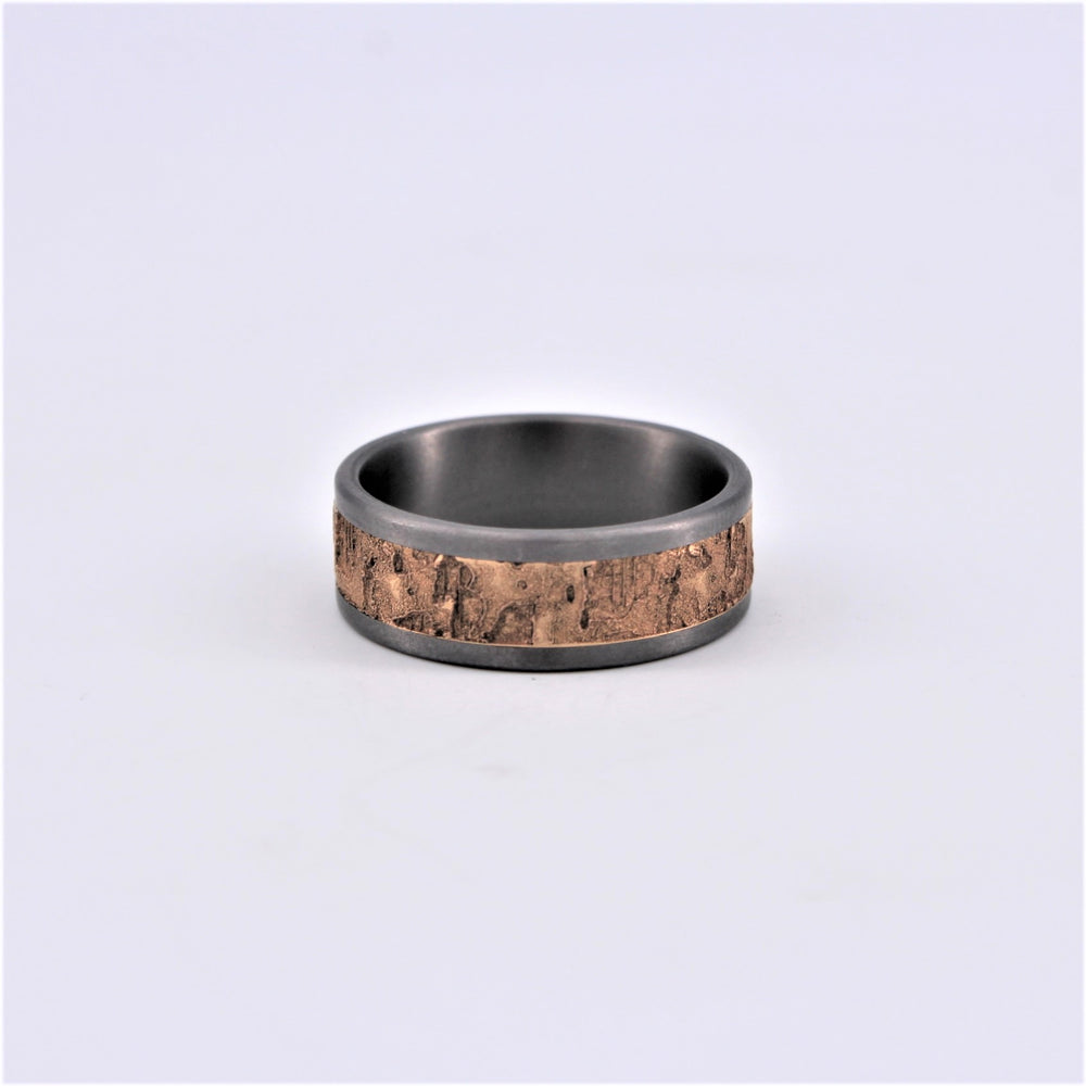 Gold Tantalum Cork Ring