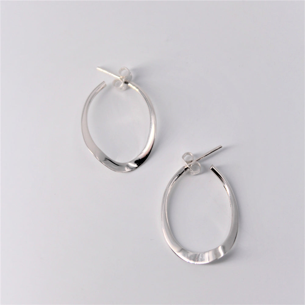 Small Hoop Dangle Earring