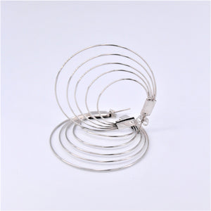 Multi Wire Hoop Earrings