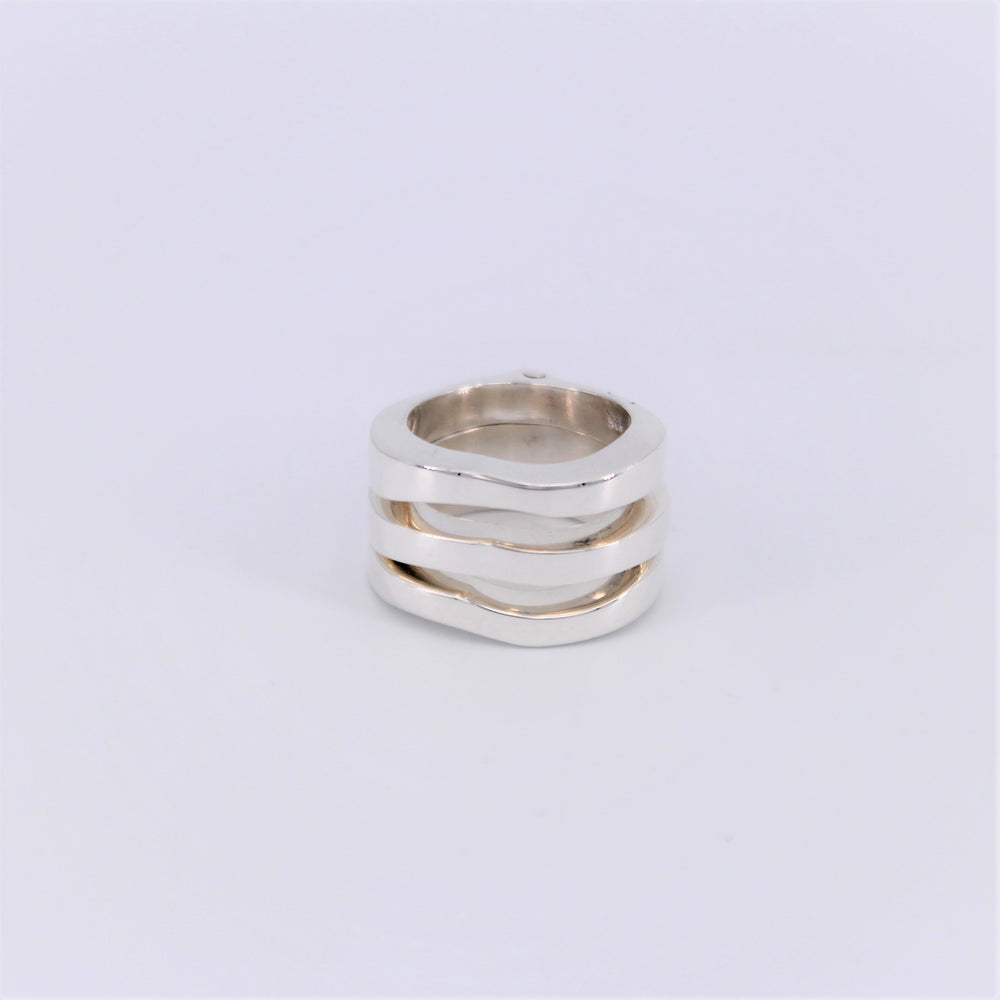 Teardrop Wave Ring