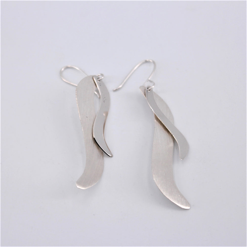 Wave Dangle Earrings