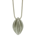 Sterling Silver Star Anise Pod Necklace