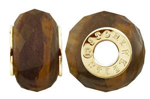 W-434P Faceted Tigerseye Wheel
