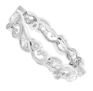 Marquise Vine and Diamond Band