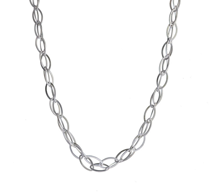 Long Double Oval Necklace