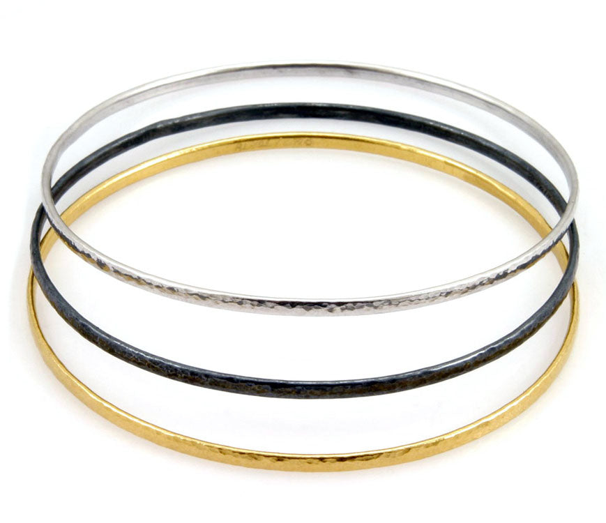 Tri-Color Bangle Set