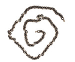 OXIDIZED STERLING SILVER CHAIN