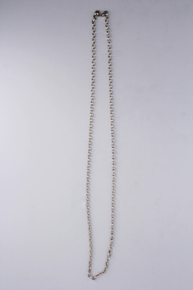 "28"" Sterling Silver Link Chain Necklace"