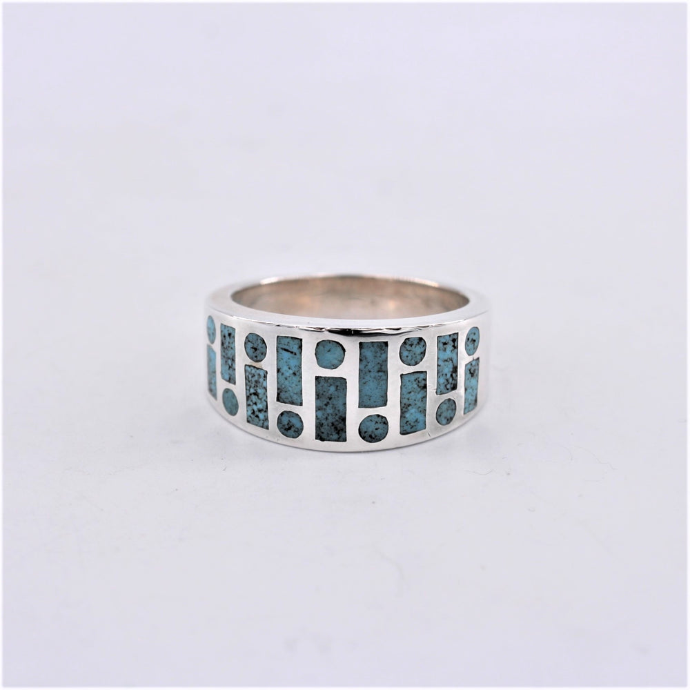 Watermark Turquoise Inlay Ring