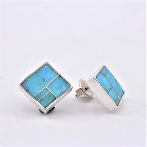 Arizona Blue Turquoise Post Earrings