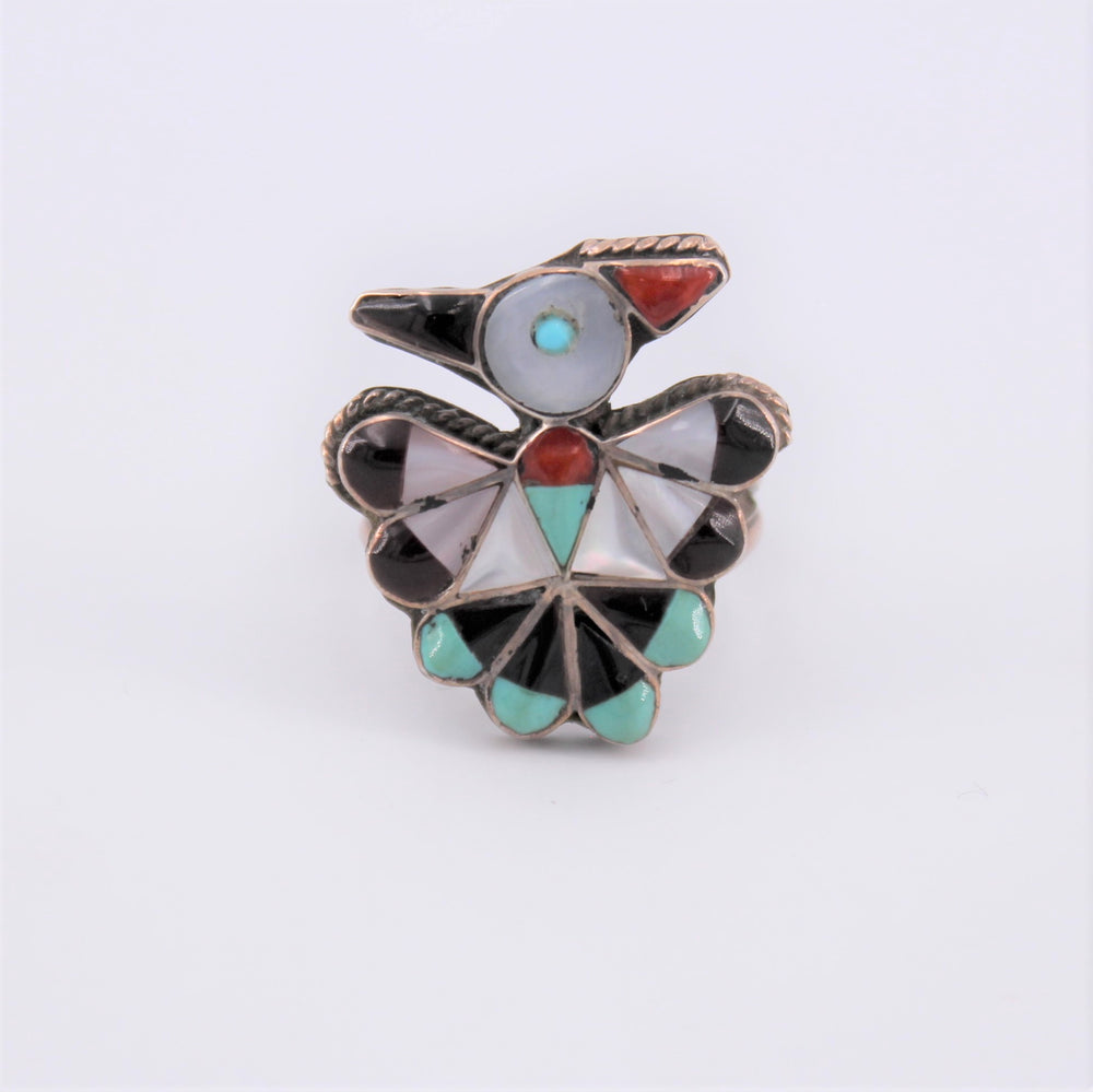 Inlay Quail Ring