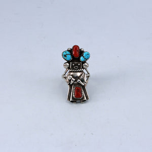 4 Stone Kachina Dancer Ring