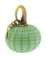 Green Striped Pumpkin
