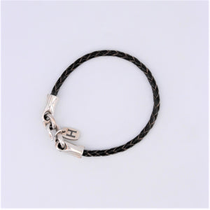 Dark Brown Leather Bracelet