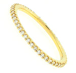 Gold Shared Prong Eternity Band