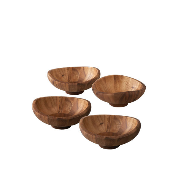 Butterfly Salad Bowls - Set of 4