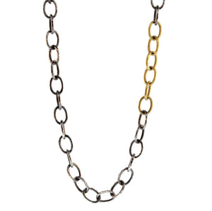 Long Gold And Silver Chain