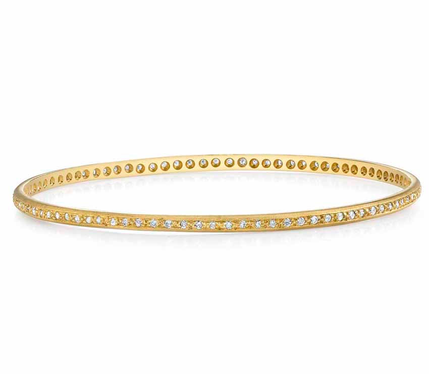 Brilliant Diamond Bangle