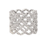 Wide Diamond Lattice Ring