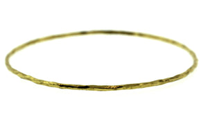Gold Rogue River Bangle