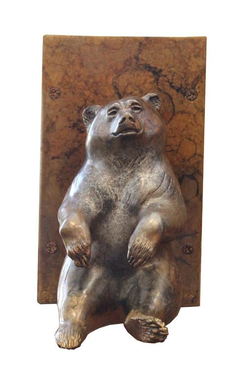 Bear Haven Door Knocker