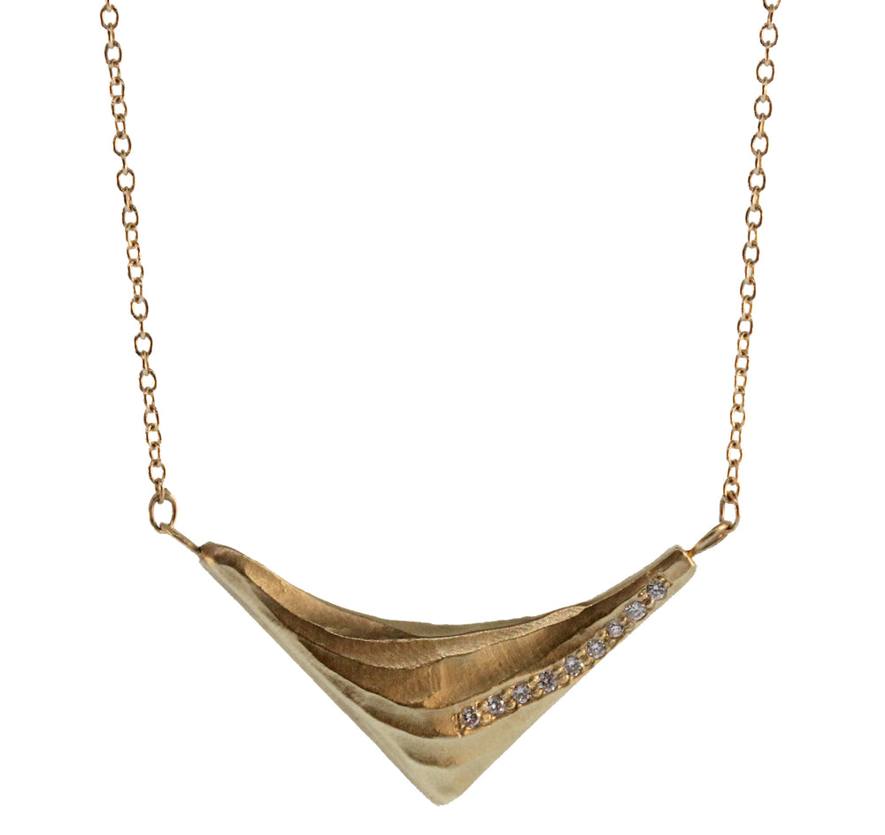 Triangle Wave Necklace