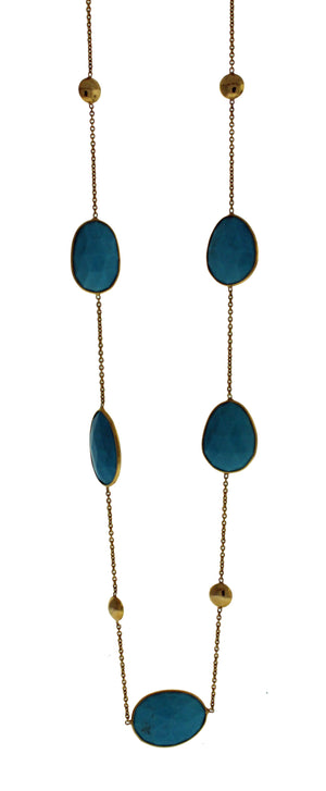 18k Turquoise Necklace