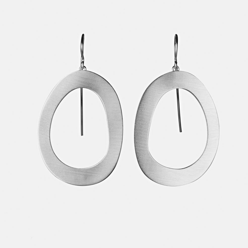 Stepping Stone Link Earrings