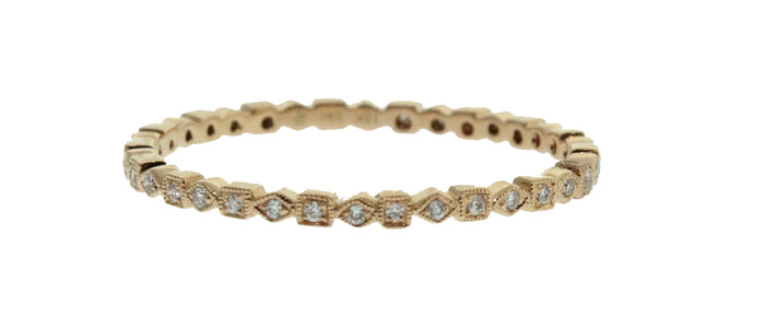 MINI SQUARE AND DIAMOND SHAPED STACK-ABLE BAND