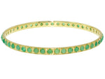 Chrysoprase Bangle