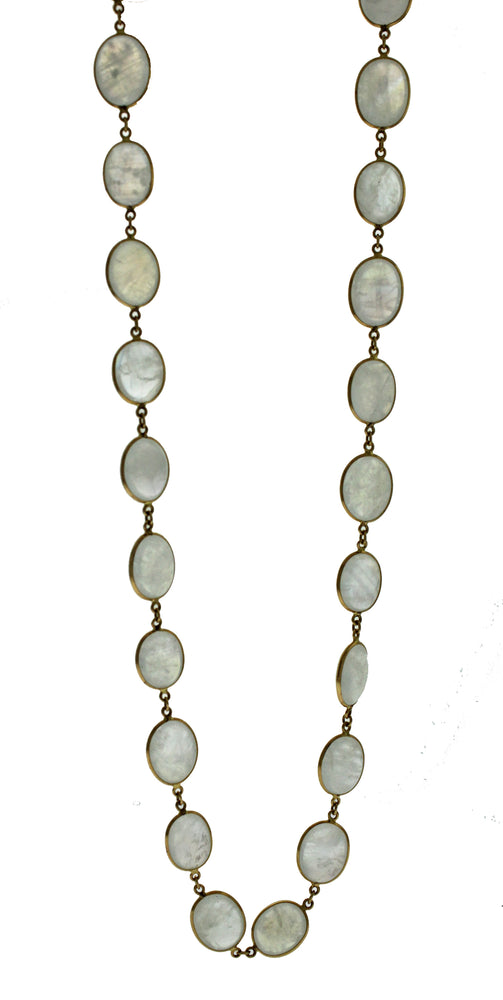 18k Moonstone Necklace