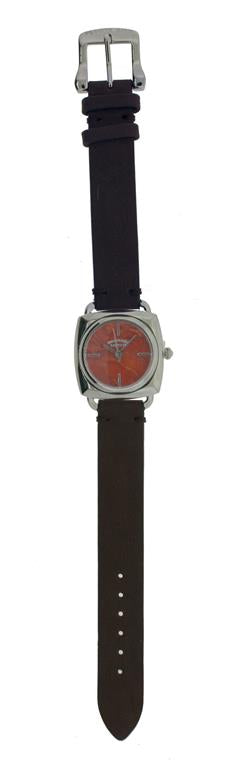 Mesa Red Coral Face Watch