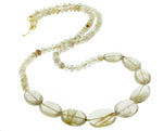 Rutilated Quartz Chunky Necklace