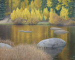 "Chris Hureau, ""Aspen Reflections,"" Oil"
