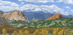 "Chris Hureau, ""Autumn Splendor at the Garden of the Gods,"" Print"