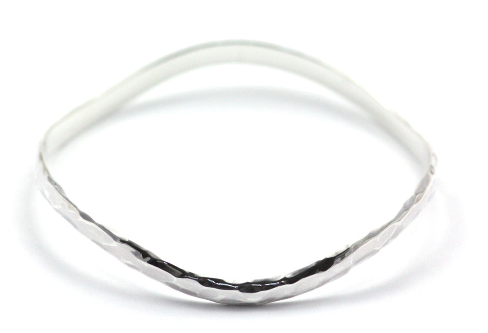 Dasa Hammered Wave Bangle
