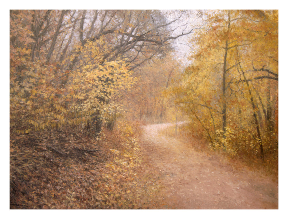 "Chris Hureau, ""Bear Creek Path,"" Oil"