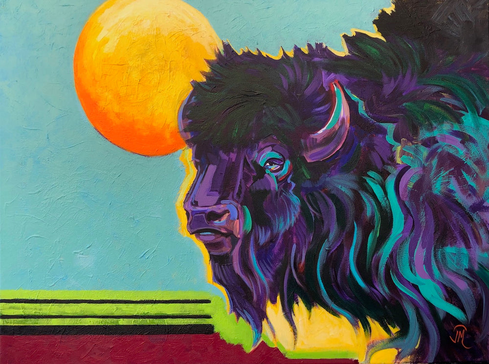 "JR Monks, ""Big Kahuna"", Acrylic"
