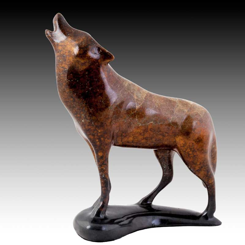 "Robert Deurloo, ""Call of the Wild,"" Bronze 274/1000"