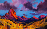 "J.R. Monks, ""Colorado Fall Rhapsody,"" Acrylic"