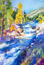 "Nora Larimer, ""Cottonwood Creek,"" Print 51/150"