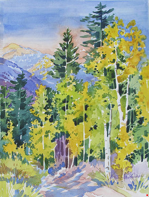 "Nora Larimer, ""Cottonwood Pass with Jones Mountain,"" Print 5/150"