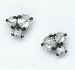 Inverted Diamond Stud Earrings
