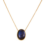 18 Karat Gold and Labradorite Necklace