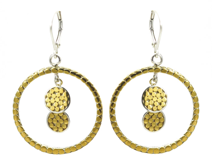 Soho Large Round Earring