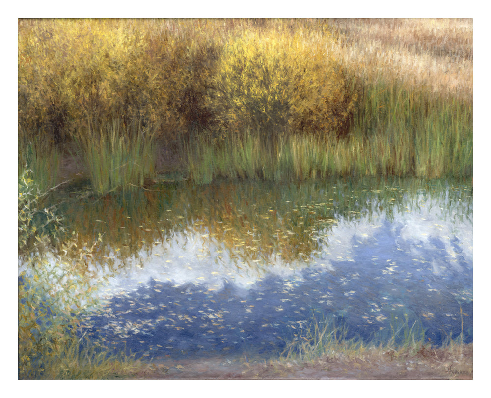 "Chris Hureau, ""Fall Reflections,"" Print"