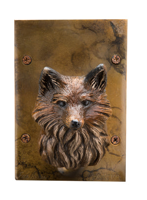 Fox Hollow Door Knocker