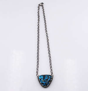 Elgin Tom: Prince Mine Egyptian Turquoise Pendant Necklace