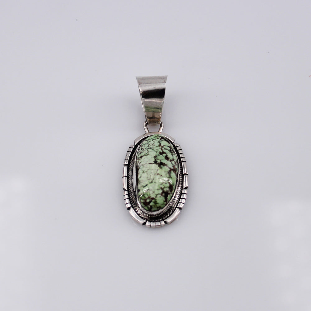 Carico Lake Turquoise and Sterling Silver Pendant