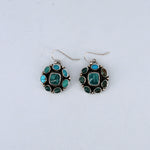Multi-mine Turquoise Earrings